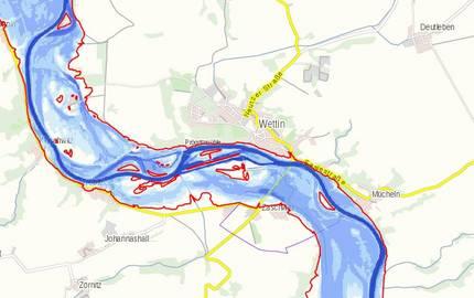 Menu: Hochwasserrisiko